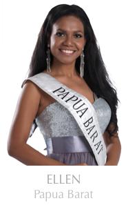Papua Barat Menjadi Runner Up Miss Indonesia 2014