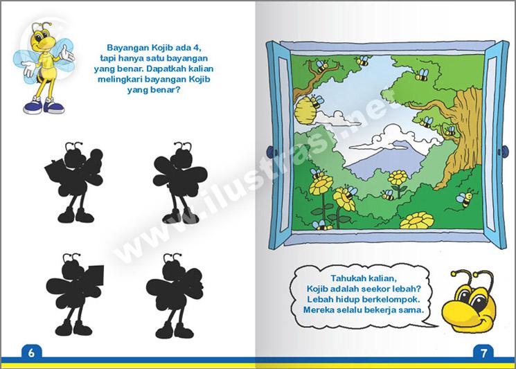 buku aktifitas anak aku tahu pajak   ilustrasi