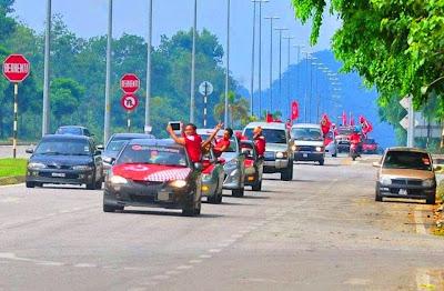 konvoi piala FA ke bukit jalil