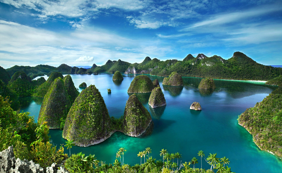 Viagem Virtual: lhas Raja Ampat 10 - Indonésia