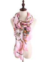 THE PAM BEACH PINK SCARF