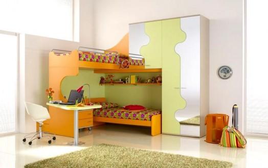 Hermosos dormitorios para dos chicas dormitorios con estilo - Cama para espacios reducidos ...