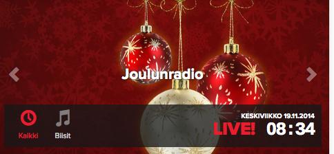 http://www.radionova.fi/nettiradio/joulunradio/