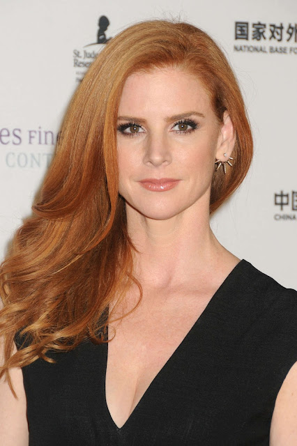 Actress, @ Sarah Rafferty - LA Art Show and Los Angeles Fine Art Show's Opening Night Premiere Party in LA