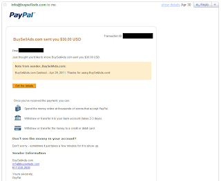 BuySellAds Payment Proof