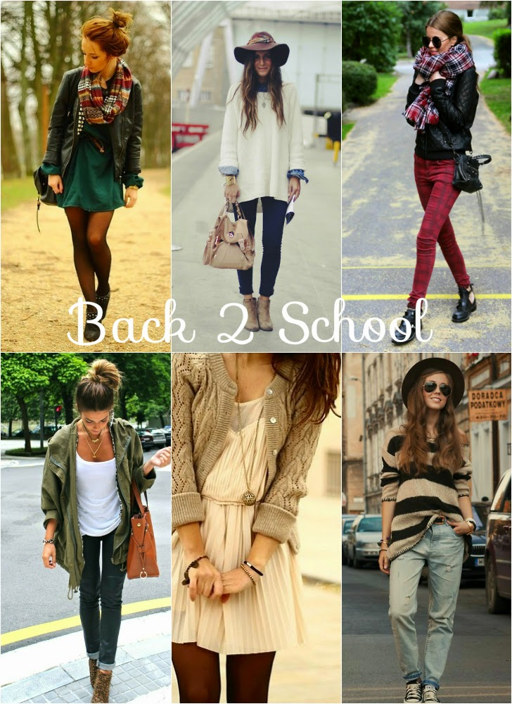 Back 2 School Fall Inspiration Looks
