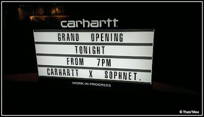 Boutique Carhartt Hommes Paris Marais Grand opening 18 janvier 2013, 57 rue du temple