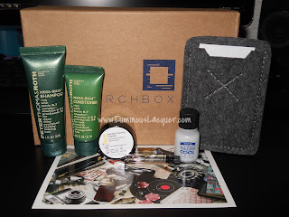 Novembers BirchBox for Men!