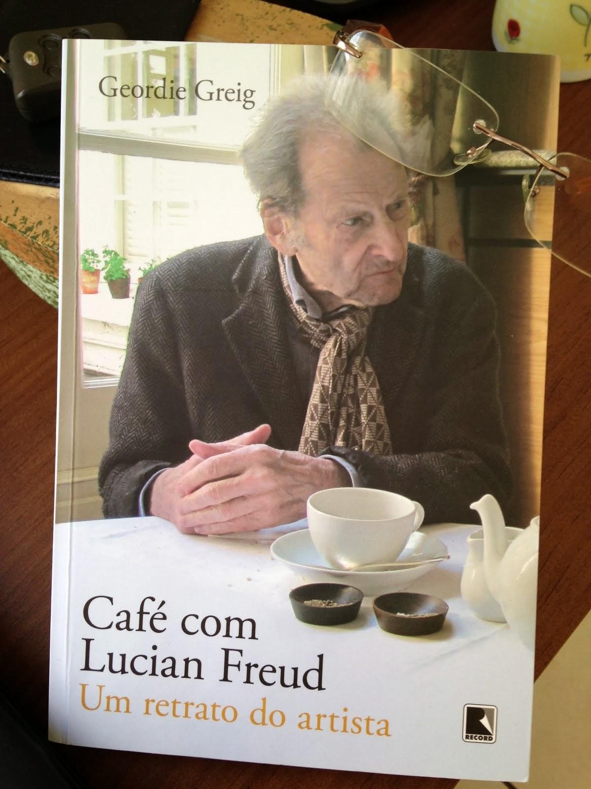 Café com Lucian Freud