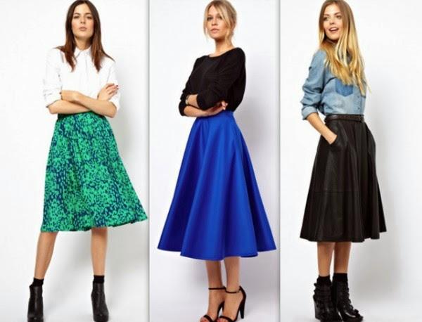 ¿Como elegir la falda correcta? | Consejos para cada tipo de cuerpo