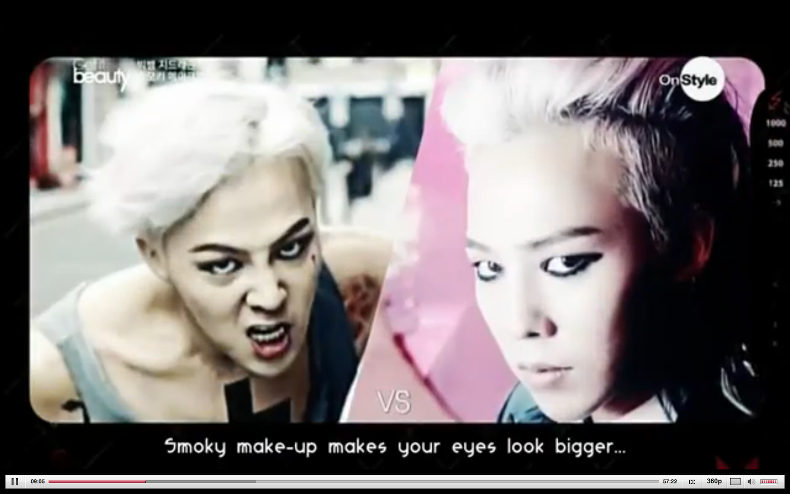 g dragon eyeliner demonstration on get it beauty