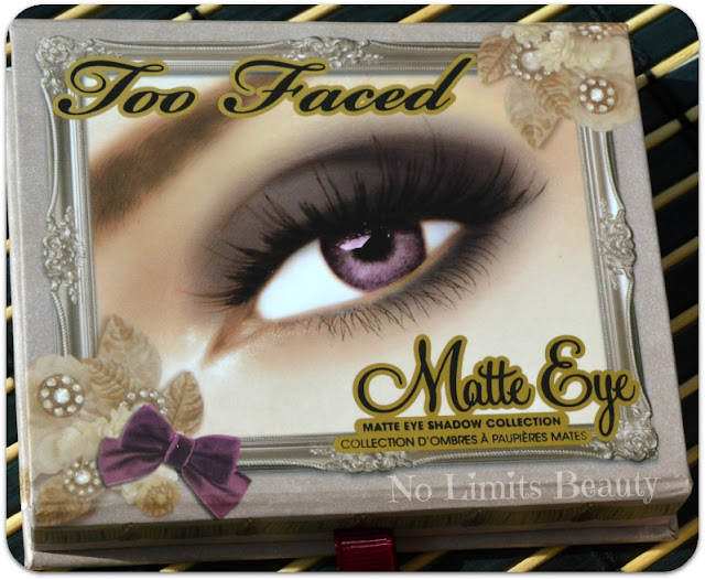 Too Faced: Matte Eye Palette (review y swatches)