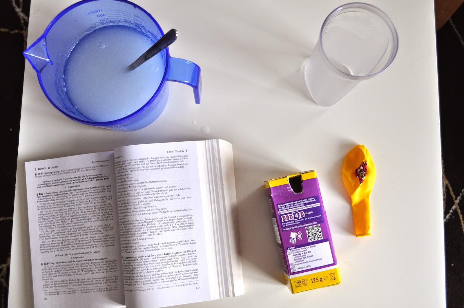der test-schuppen: metylan kleister (normal) für papiertapeten von