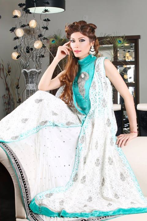 Formal Dresses Embroidery Designs 2012-2013 | Pakistani New Party Dresses