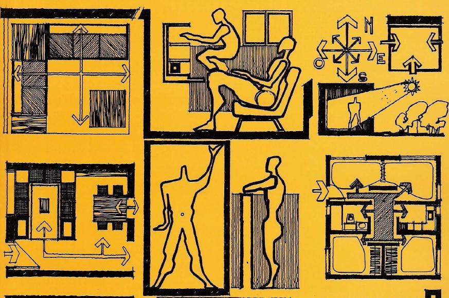 Baños Medidas Neufert:TAREAS FADU: Las medidas de una casa: antropometria de la vivienda