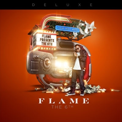 FLAME - The 6th - Man On Fire (deluxe album/version) - album art