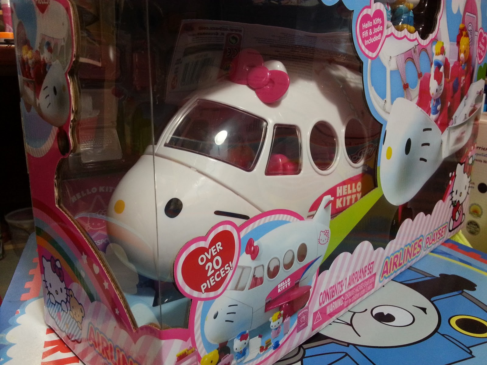 Hello Kitty Toys At Target : Happy toys world hello kitty playset airlines