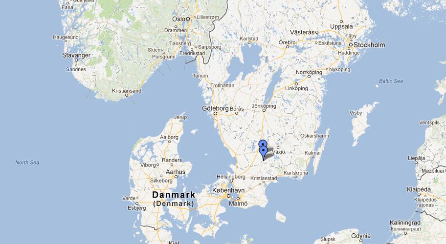 Sweden Ikea Map - Sweden map boras