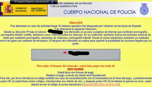 Dulcesilusionesdemarieta virus estafa internet falso mensaje del cuerpo nacional de policia - Oficina de seguridad del internauta ...