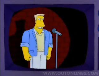 Simpsons Stand Up Comedy McBain Toilet Joke McBane