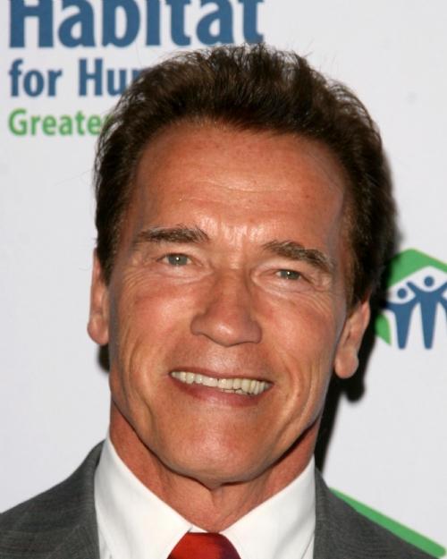 2012 New Face Arnold Schwarzenegger