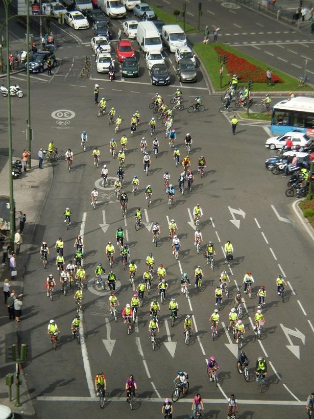 Bicicletada STARS en la SEM 2014