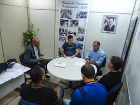 O Sgt. Ricardo da ASSP-PE, reunido com o Ten-Cel. Jeová da GICAPE da SDS  parte 02