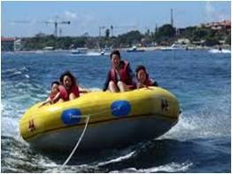 Rolling Donut Nusa Dua Bali | Tempat Wisata Pantai Tanjung Benoa Bali
