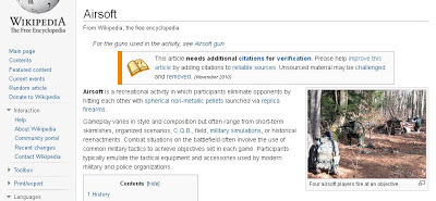 airsoft, gun, permainan, pengertian, definition, wikipedia