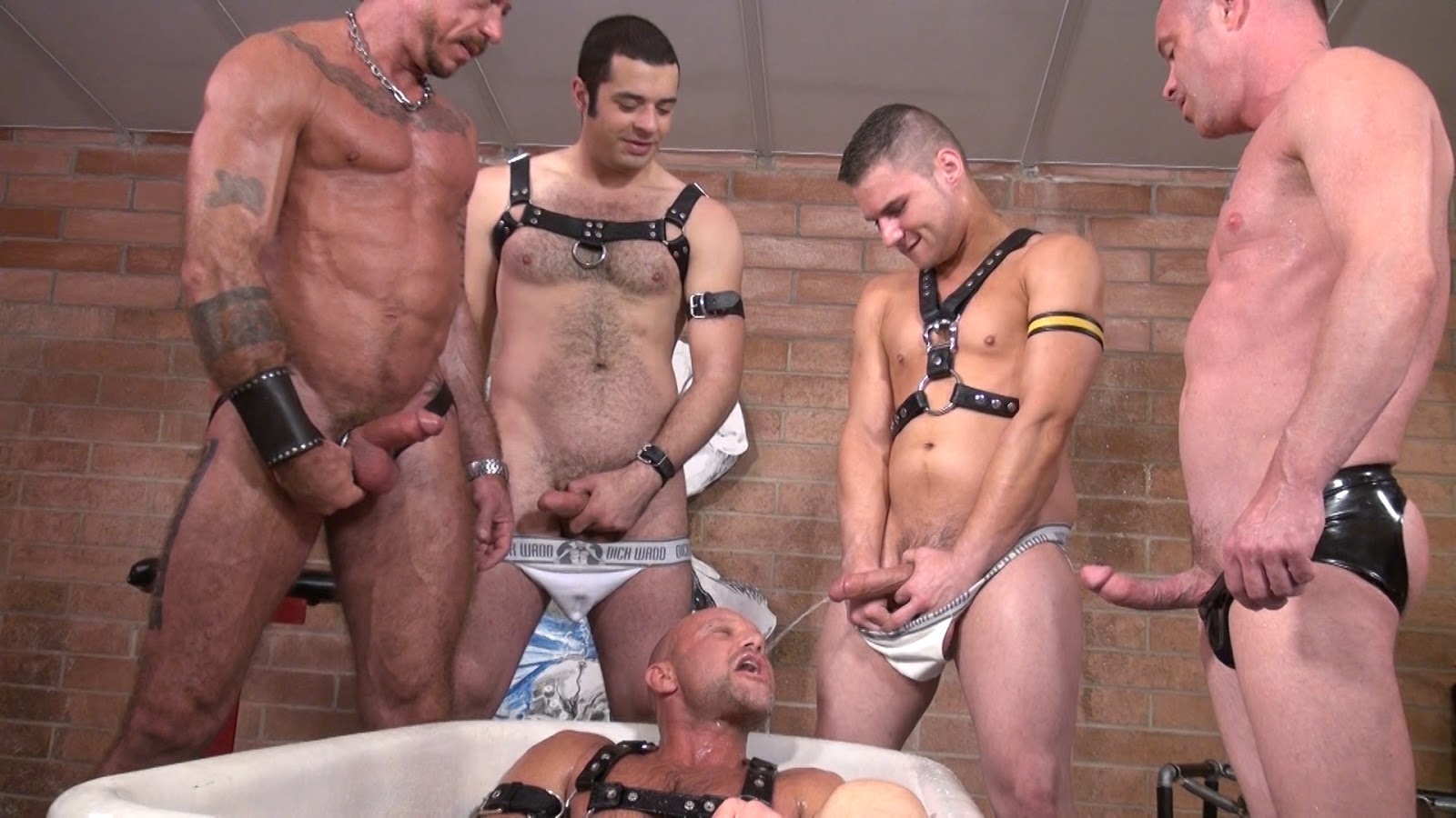 Dutch pissboys orgy video