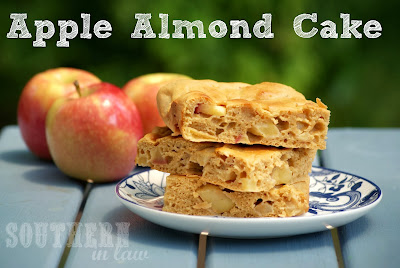 Healthy Apple Almond Meal Cake Recipe - Gluten Free, Low Fat