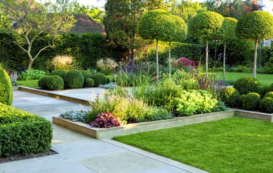 New garden design for Garden landscaping ideas for large gardens