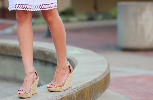 embossed nude wedges espadrilles summer sandals