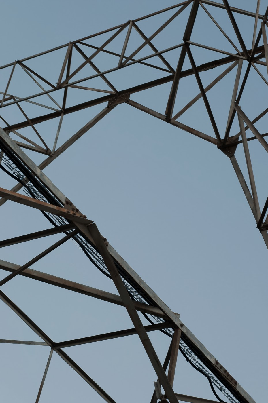 Melbourne, Australia, architecture, architectural, architects, abstract, abstractional, abstraction tim macauley, detail, steel, structure, photographic artist, docklands, electrical pole, electicity, tower, giant, large