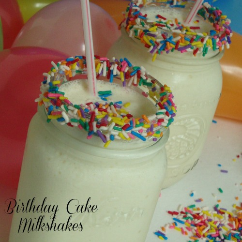 Be Different...Act Normal: Birthday Cake Milkshake