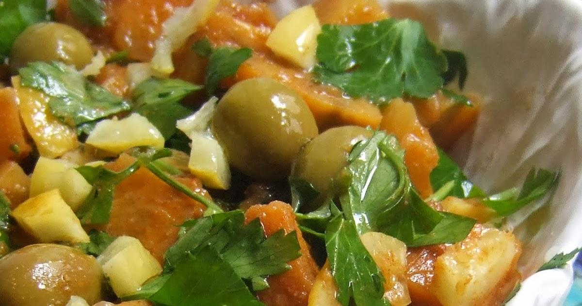 o cozinheiro este algarve: Slada Batata Hilwa (Moroccan ...