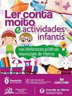 Ler conta moito e actividades infantís