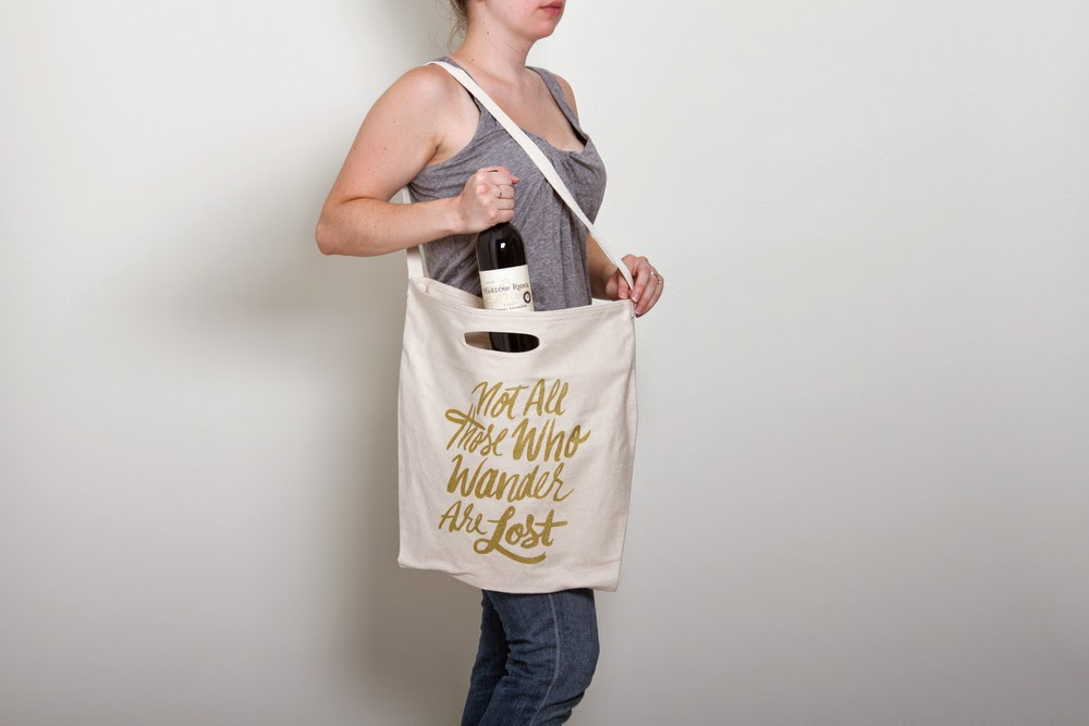 Not all those who wander are lost - Lord of the Rings - J.R.R. Tolkien - Jordan Dene tote bag - Hello, Handbag