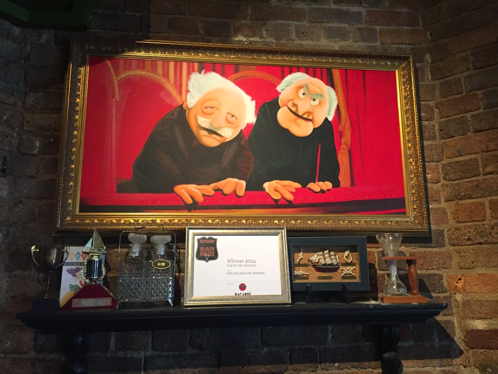 Cassie Cakes Review of Statler & Waldorf