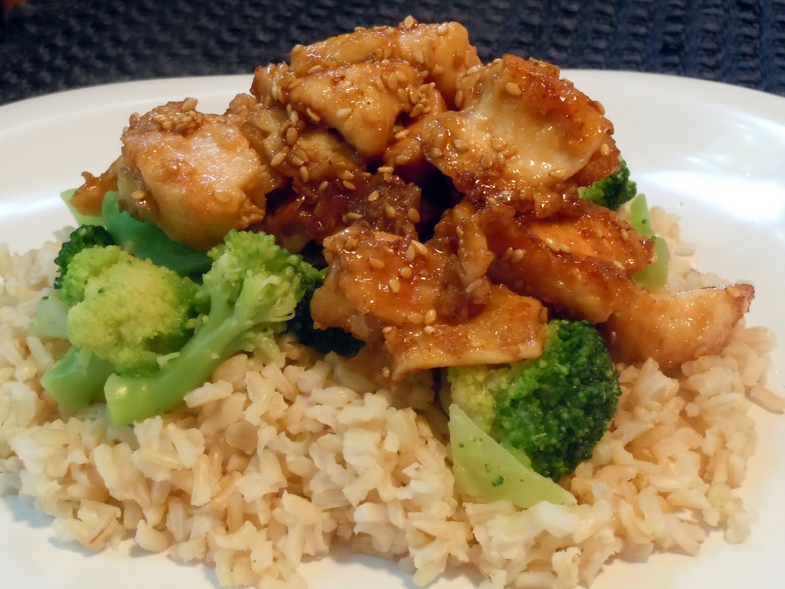 The Savvy Kitchen: Lighter Sesame Chicken