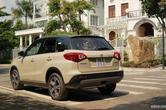 Đánh giá tổng quan xe Suzuki Vitara 2015