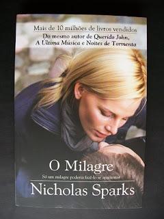 O Milagre, de Nicholas Sparks