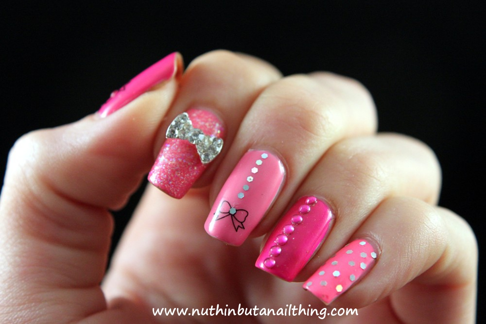 nuthin\' but a nail thing: It\'s all about the pink...