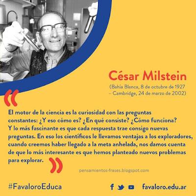 frases de César Milstein