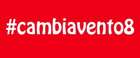 Hashtag Cambiavento8