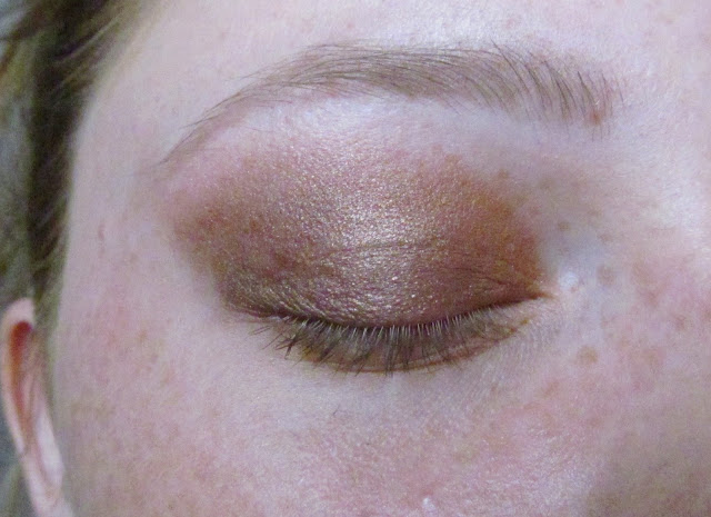 autumn copper makeup