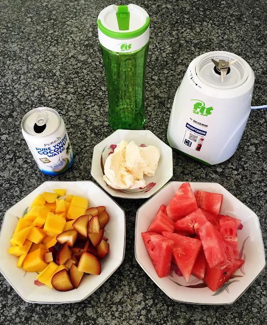 Healthy, smoothie, ingredients
