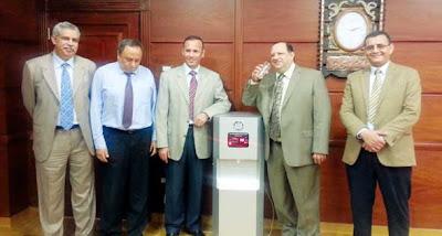 ابتكار مصري لتحويل الهواء مياه