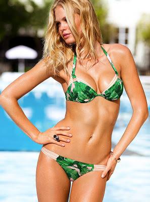 Erin Heatherton Sexy Bikini For Victoria's Secret Photoshoot January 2013