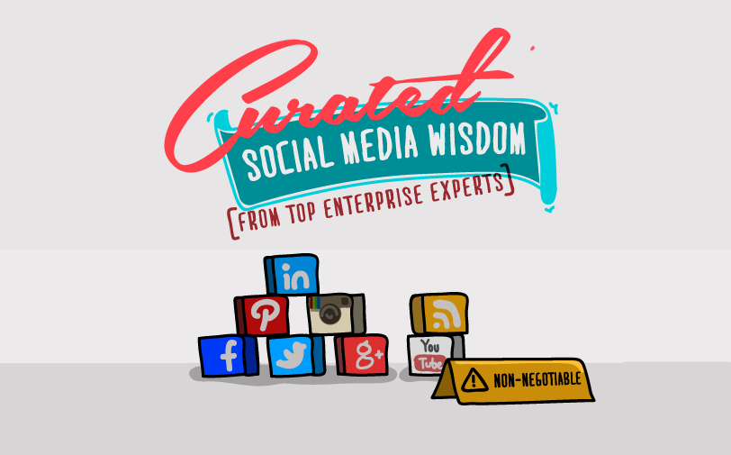 27 Marketing Tips from Top Enterprise #SocialMedia Professionals - #infographic #marketing